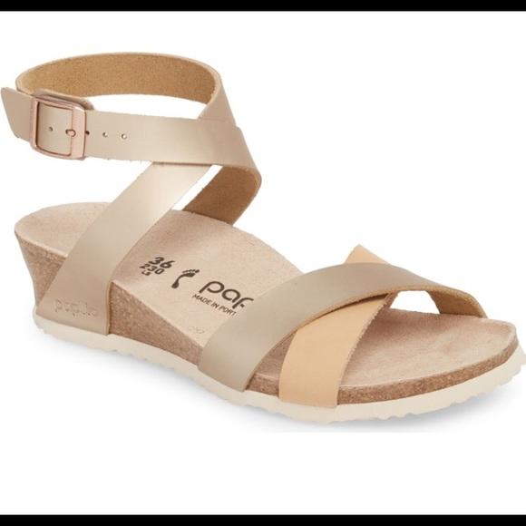 51943731988 Birkenstock Shoes - Birkenstock Papillio Lola Wedge Sandal